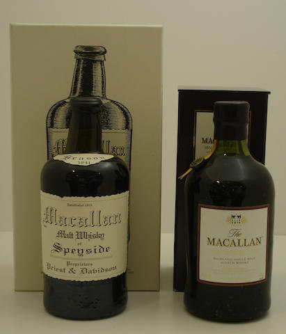 The Macallan Replica-1841  The Macallan Insperation-1851