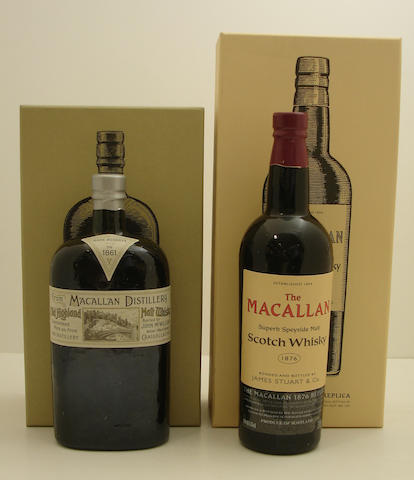 The Macallan Replica-1861<BR /> The Macallan Replica-1876