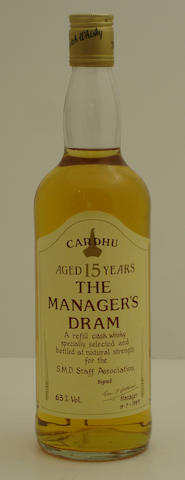 Cardhu-15 year old