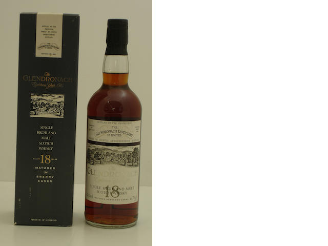 The Glendronach-18 year old-1972