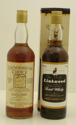 Glenlossie-1971<BR /> Linkwood-15 year old