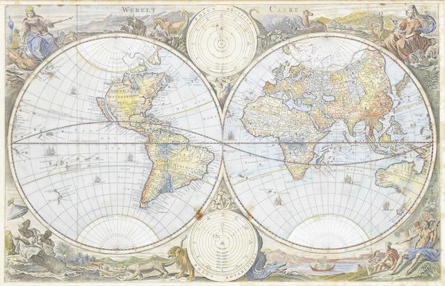 WORLD STOOPENDAAL (DANIEL) Werelt Caert