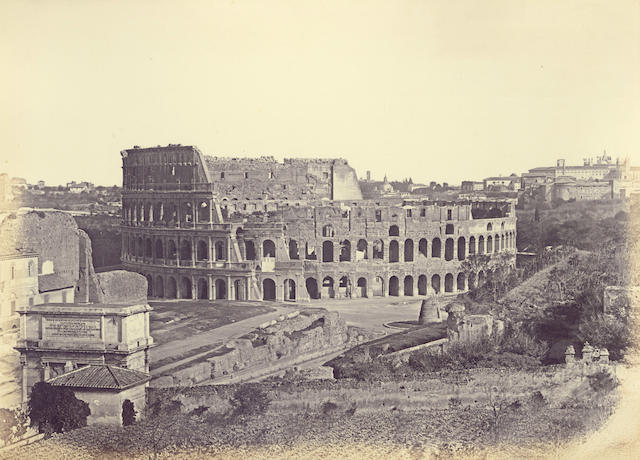 ROME View of the Colosseum, [1850s]
