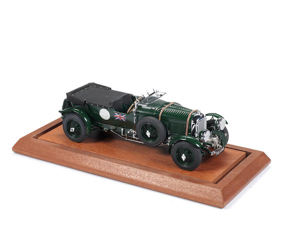 A 1:15 scale model of the 1929 4 ½ Litre 'Blower' Bentley by Gerald A. Wingrove,