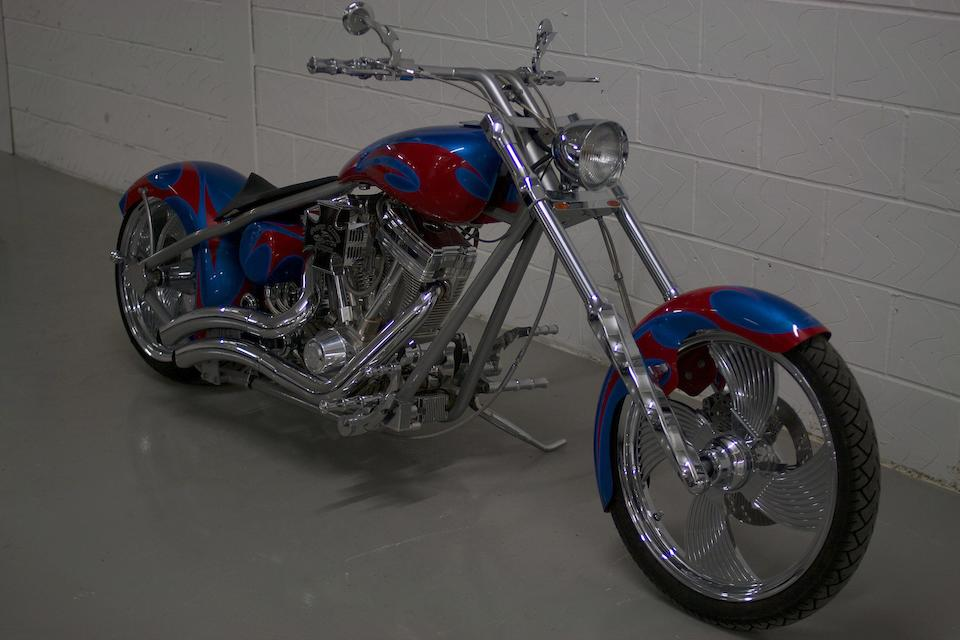 Less than 90 miles (approximately 144 kilometres) from new,2005 Orange County Chopper 'American Spirit of Invention' Frame no. SW92702R1STOC1534 Engine no. FC00722