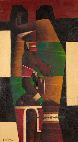 Diederick During (South African, 1917-1999) Abstract figure