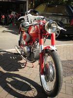1957 Motobi 125cc Frame no. 442990