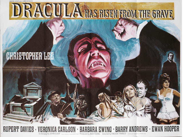 Dracular Has Risen From The Grave Hammer, 1968,