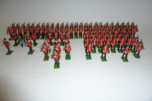 Britains Metal Models, British Infantry 183