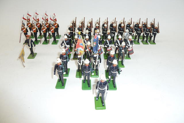 Britains Metal Models, Royal Marines, Police, U.S. etc. 120