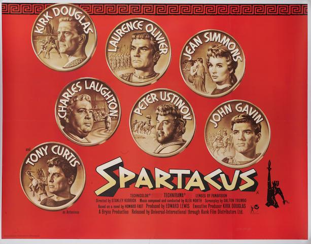 Spartacus, Universal, 1960,
