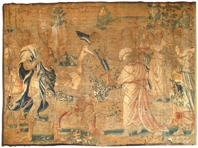 17th/18thC tapestry (AF)