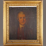 English School (18th Century) Portrait of a gentleman, bust length,