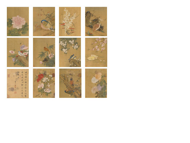 After Lu Zhi (1496-1576) Birds and Flowers