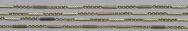A fancy-link long chain
