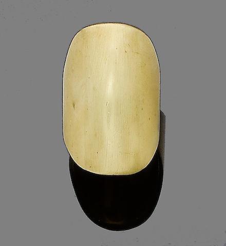 A dress ring