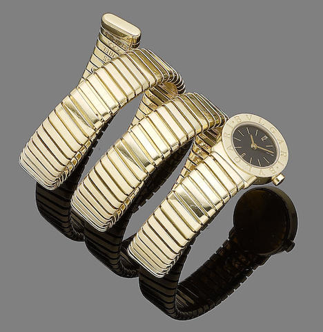 A 'Tubago' watch, by Bulgari