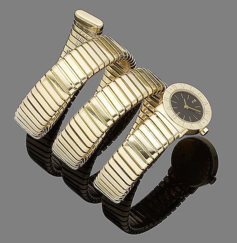 A 'Tubago' watch, by Bulgari