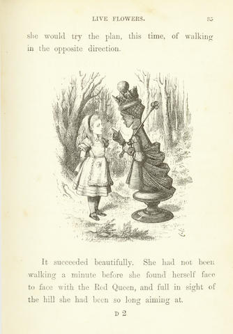 "DODGSON (CHARLES LUTWIDGE) ""Lewis Carroll"" Through the Looking-Glass and What Alice Found There"