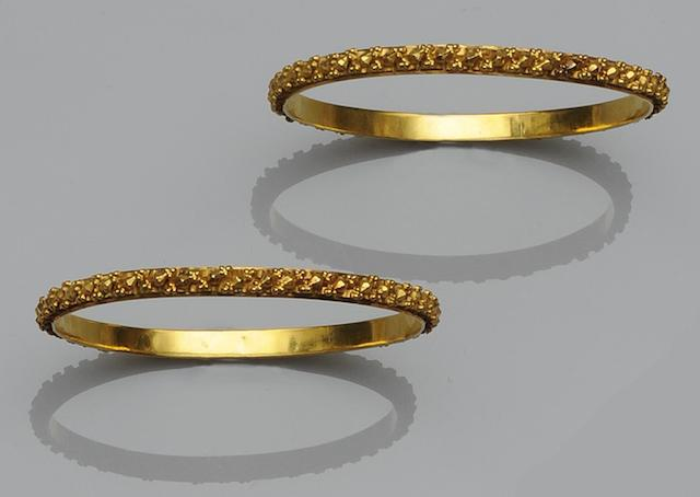 A pair of bangles (2)