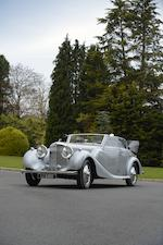 1938 Bentley 4 ¼ litre Four Door Cabriolet  Chassis no. B125LE Engine no. H9BG