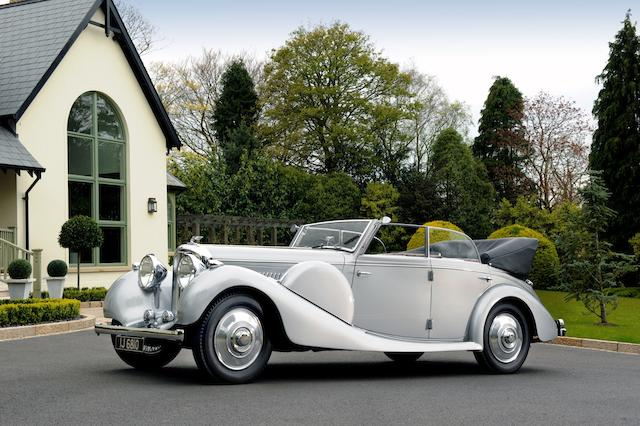 1938 Bentley 4 1/4 Cabriolet
