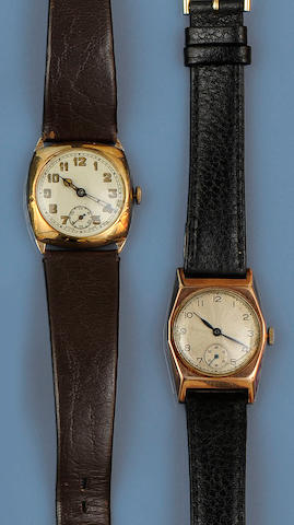 Two gentleman's wristwatches (2)