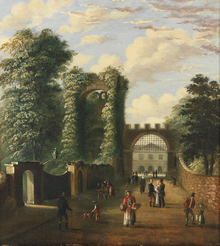 Charles Tucker (British) Rougement Castle, Exeter