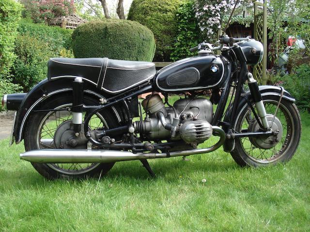 1967 BMW 594cc R50/2 (see text) Frame no. 645707 Engine no. 1813639