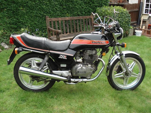 1981 Honda CB250 NA Super Dream Frame no JHMCB250N2200341 Engine no. CB250NE220341