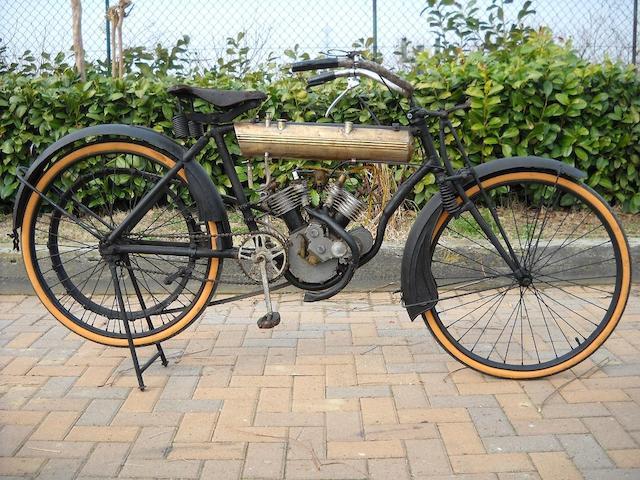 1909 Moto-Rêve 2½hp V-Twin Engine no. 5566