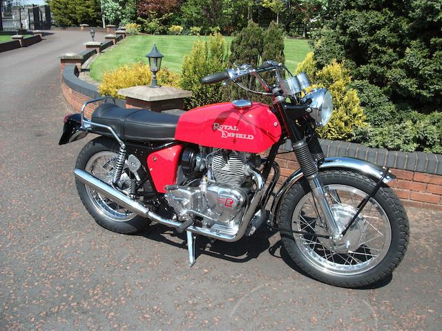 1971 Royal Enfield 736cc Interceptor Series II Frame no. F2499 Engine no. IB2499