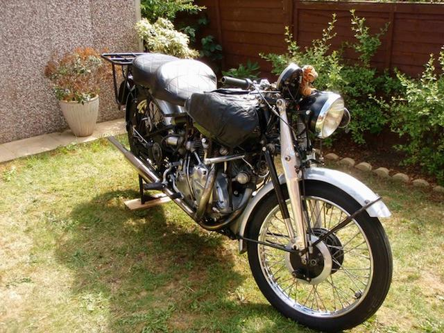 1951 Vincent 998cc Rapide Frame no. RC8316B Engine no. F10AB/1/5502