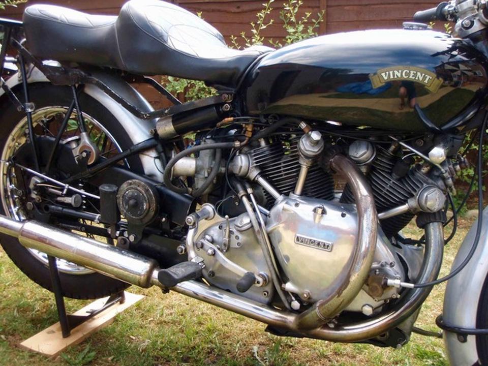 1951 Vincent 998cc Rapide Frame no. RC8316B Engine no. F10AB/1/5502