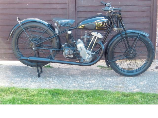 1933 AJS 249cc 33/12 Big Port