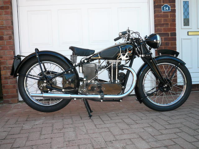 1934 OK-Supreme 250cc Flying Cloud Frame no. 18928 Engine no. PO/D/35816/S