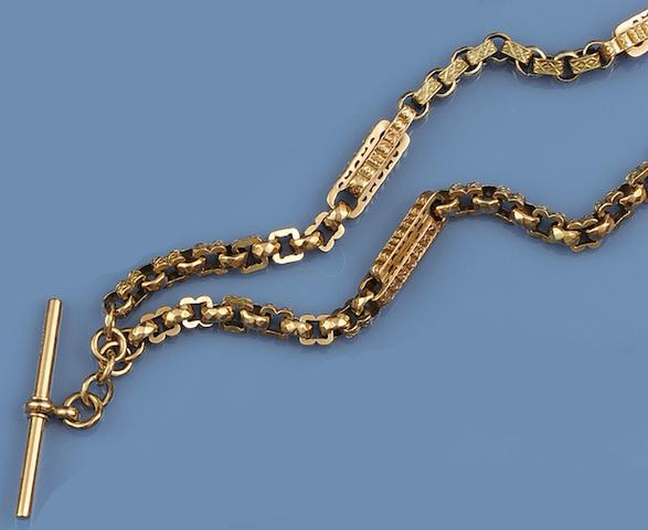 A fancy-link Albert chain
