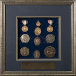 An Important Olympic Archive collection, H.R.(Bobby) Pearce, Champion Sculler (1905-1976) Including Olympic Gold Medals and Diplomas, 1928 & 1932 Olympiads.