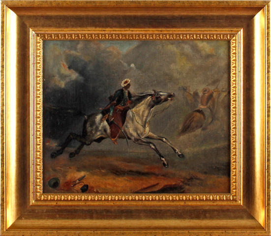 Manner of Eugène Delacroix Arab Horsemen