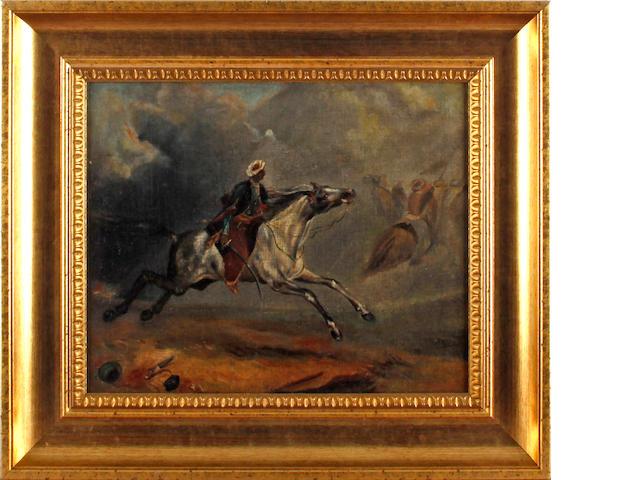 Manner of Eugène Delacroix Arab Horsemen