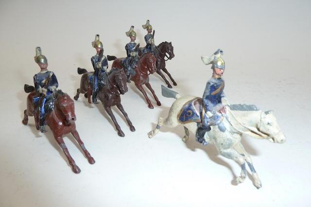 Britains set 106, 6th Dragoon Guards, Carabiniers 5