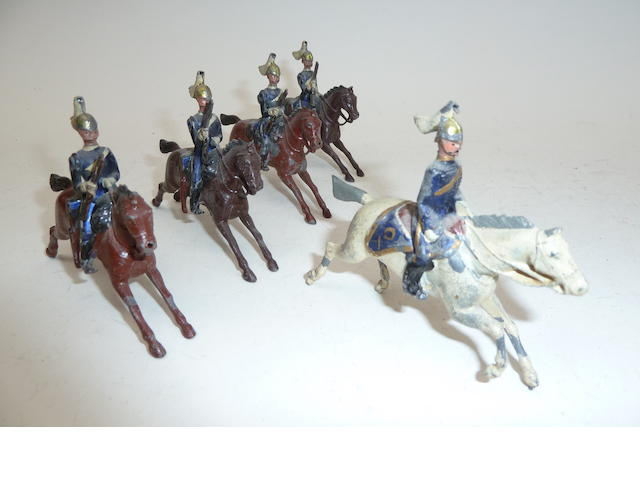 Britains set 106, 6th Dragoon Guards, Carabiniers 5