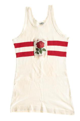 1938 British Empire Games running vest