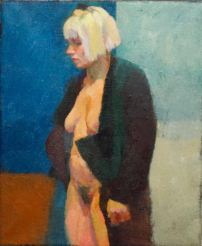 Justin Mortimer (British, 1970) Female nude