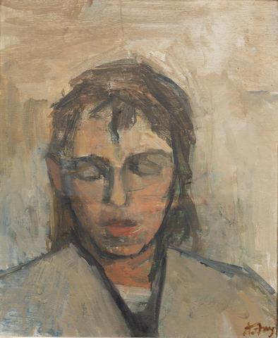 Anthony Fry (British, born 1927) Portrait of Barbara