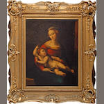 After Raffaello Sanzio, called Raphael, circa 1800 The Madonna and Child