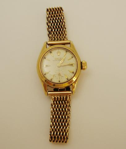 A lady's wristwatch, by Rolex,