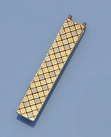 Cartier: A gentleman's tie clip