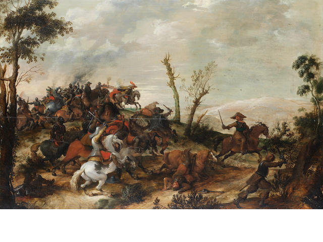 Pieter Snayers (Antwerp 1592-1667 Brussels) A cavalry skirmish unframed