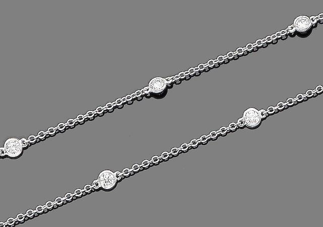 A diamond-set longchain